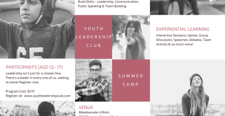 Youth Leadership Summer Camp – Mississauga