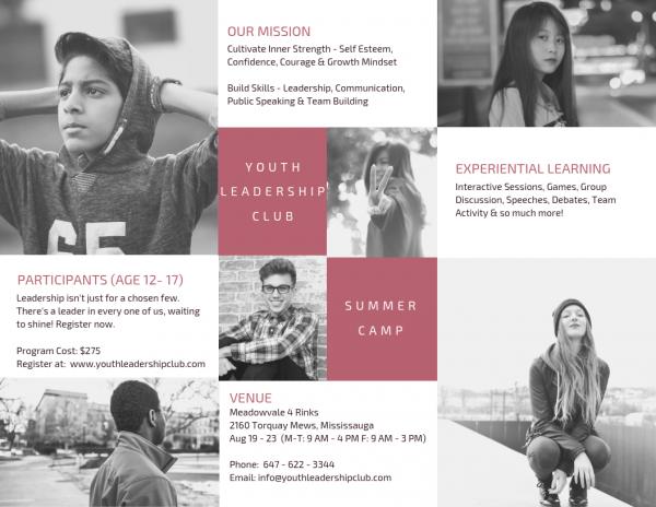 Youth Leadership Summer Camp - Mississauga